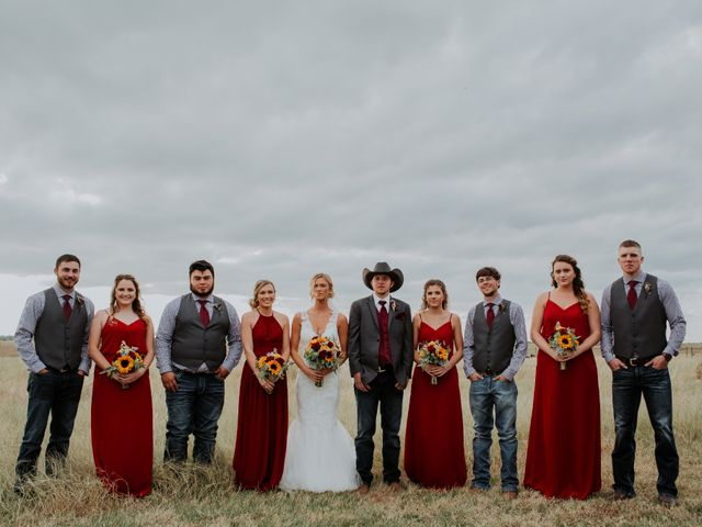 Reed and Leean's Wedding in Thrall, Texas 18