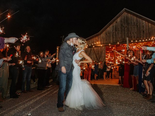 Reed and Leean's Wedding in Thrall, Texas 29