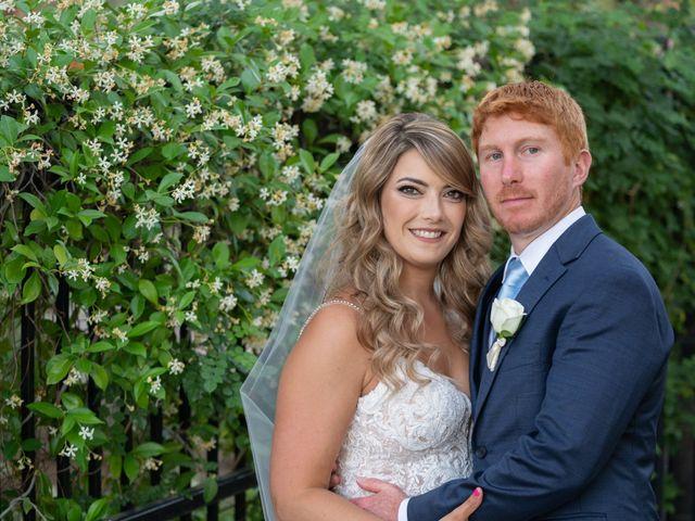 The wedding of Lauren and Tony