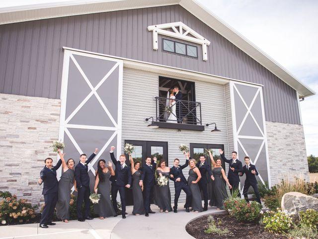 Zach and Olivia's Wedding in Cedar Rapids, Iowa 1