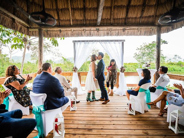 Julie and Herman's Wedding in Cayo District, Belize 26