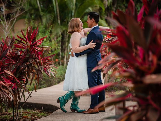 Julie and Herman's Wedding in Cayo District, Belize 30
