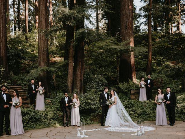 Jessica and Conrad's Wedding in Los Gatos, California 60