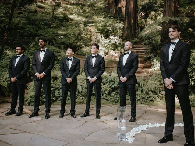 Jessica and Conrad's Wedding in Los Gatos, California 76