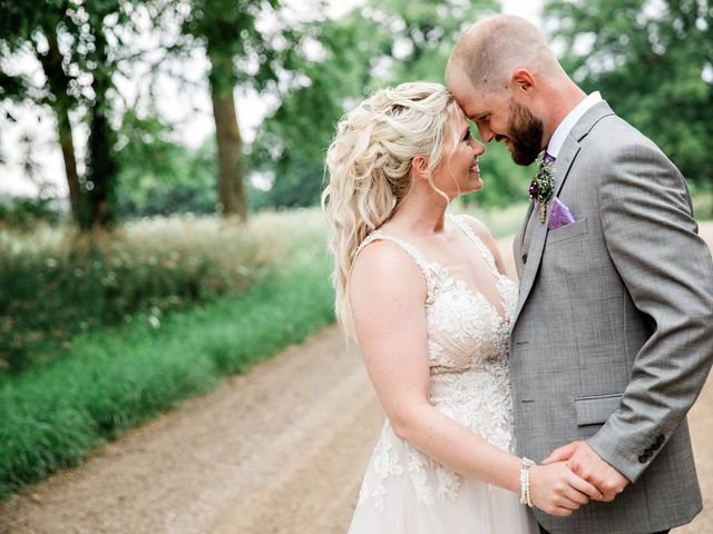 The wedding of Katelin and Tom