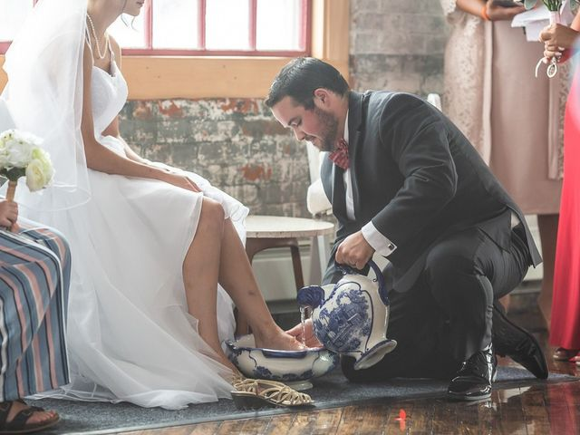 Emily and Liam's Wedding in Geneva, New York 1