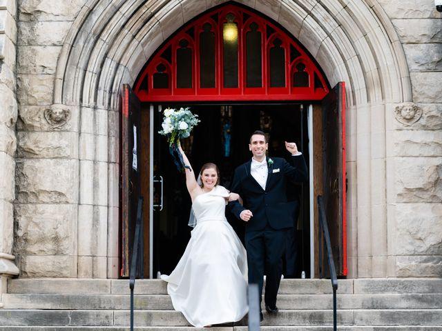 The wedding of Lindsay and Matthew