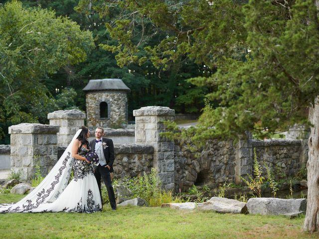 The wedding of Marisa and Josh