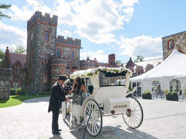 Josh and Marisa's Wedding in Windham, New Hampshire 10