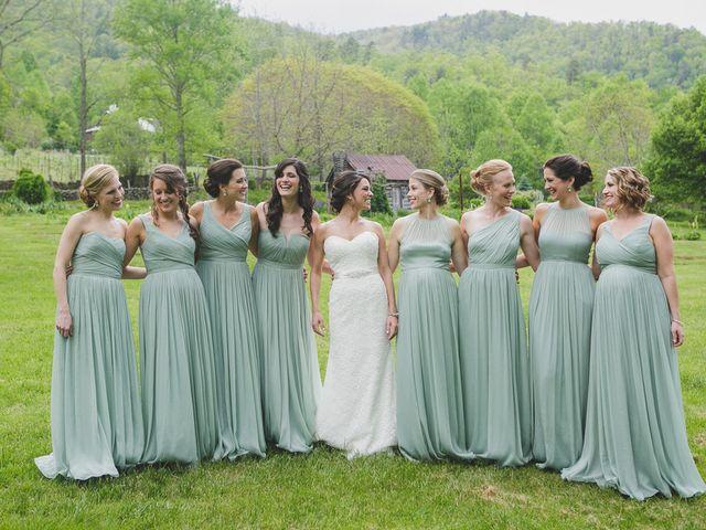 Nicole and Jeremy's Wedding in Sylva, North Carolina 6
