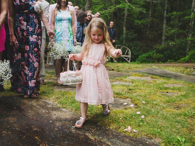 Nicole and Jeremy's Wedding in Sylva, North Carolina 10