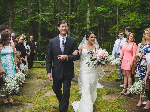 Nicole and Jeremy's Wedding in Sylva, North Carolina 11