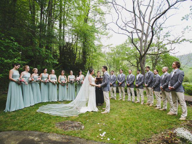 Nicole and Jeremy's Wedding in Sylva, North Carolina 14
