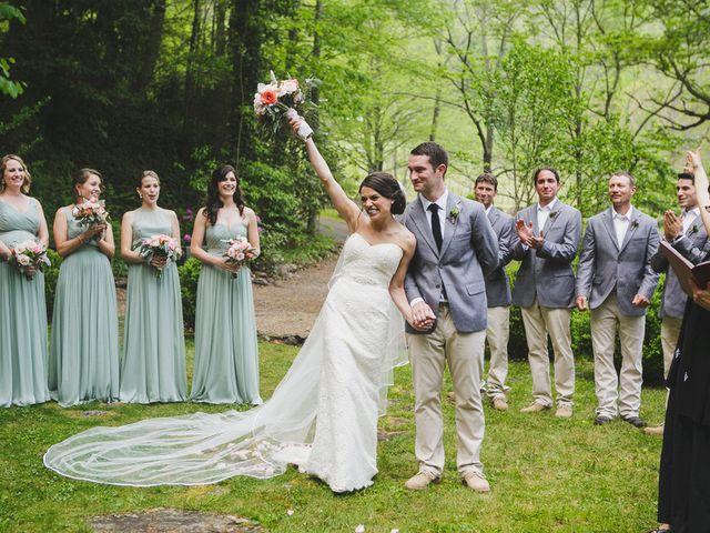 Nicole and Jeremy's Wedding in Sylva, North Carolina 16