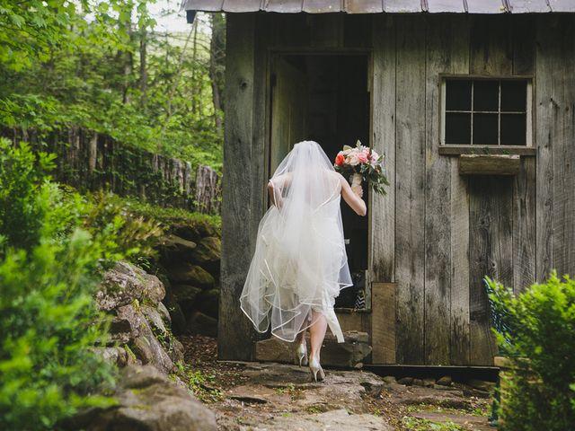 Nicole and Jeremy's Wedding in Sylva, North Carolina 17