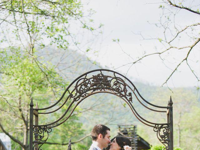 Nicole and Jeremy's Wedding in Sylva, North Carolina 19