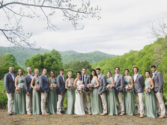 Nicole and Jeremy's Wedding in Sylva, North Carolina 20