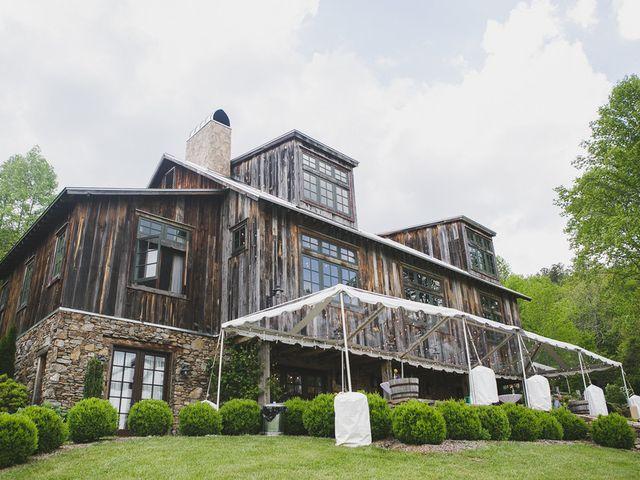 Nicole and Jeremy's Wedding in Sylva, North Carolina 21