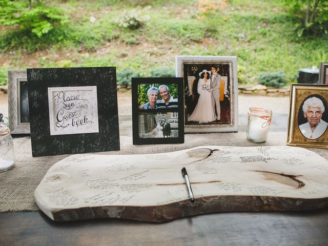 Nicole and Jeremy's Wedding in Sylva, North Carolina 22