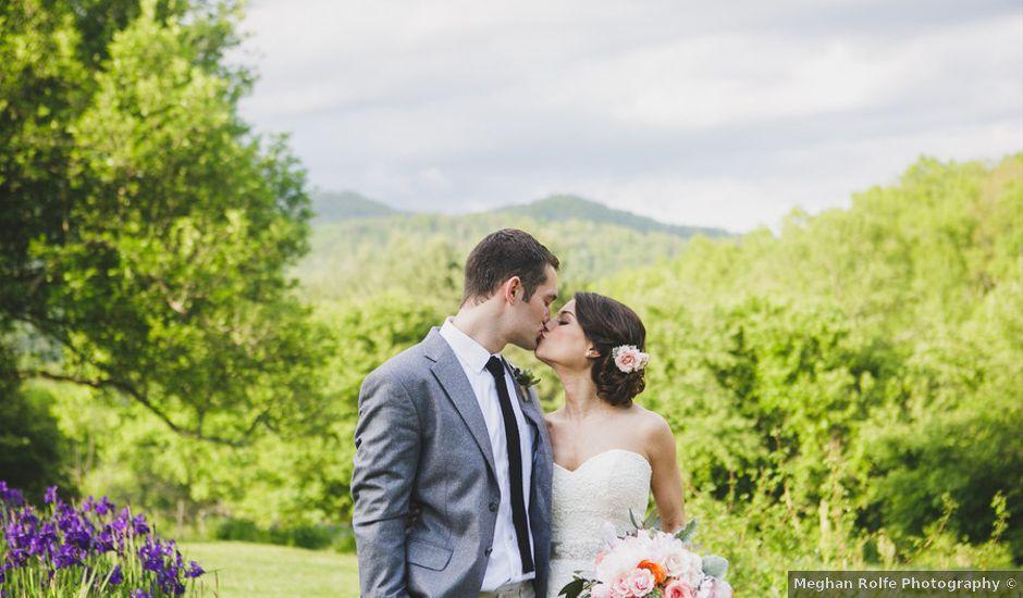 Nicole and Jeremy's Wedding in Sylva, North Carolina