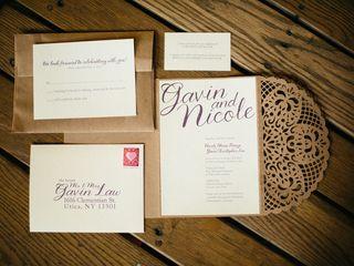 The wedding of Gavin and Nicole 2
