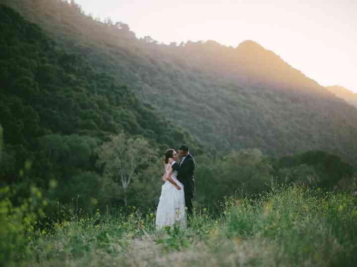 The wedding of Kori and Josh