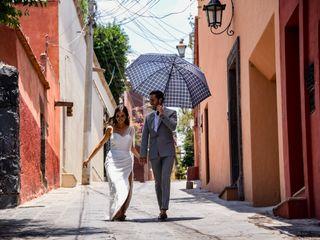The wedding of Valeria and Adrian