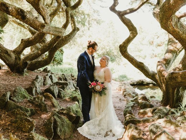 The wedding of Cait and Aaron
