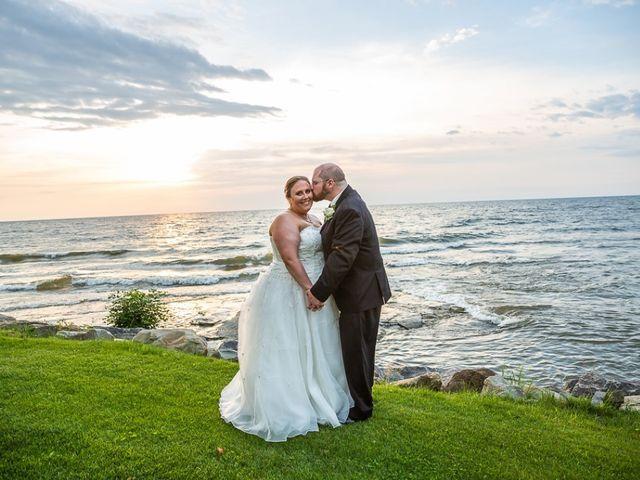 The wedding of David and Stephanie
