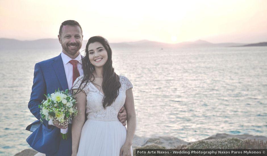 Luigi and Anthi's Wedding in Naxos, Greece