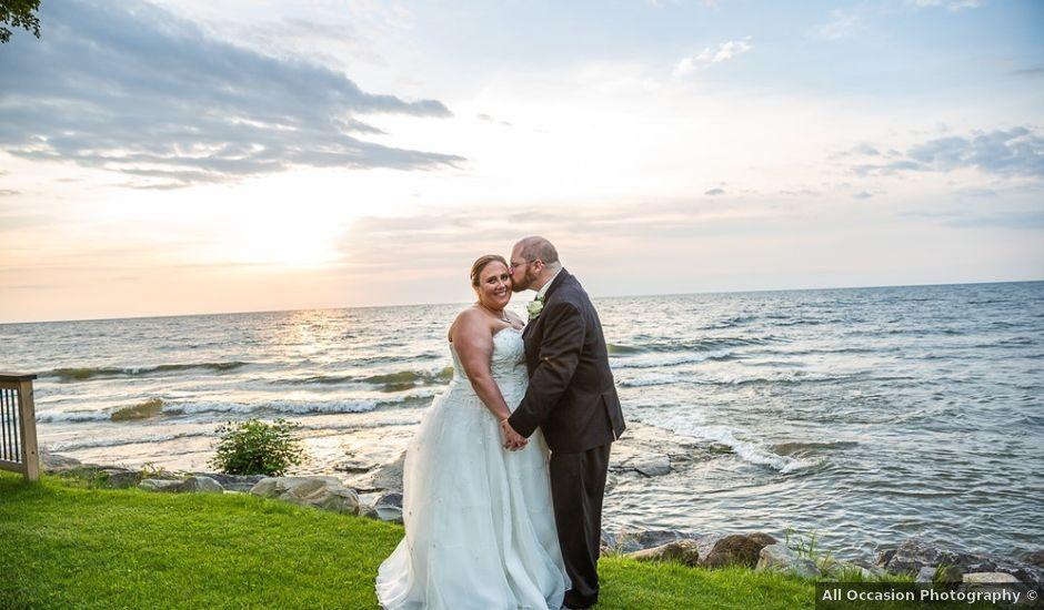 Stephanie and David's Wedding in Oswego, New York