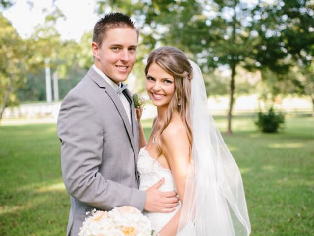 The wedding of Travis and Bethany