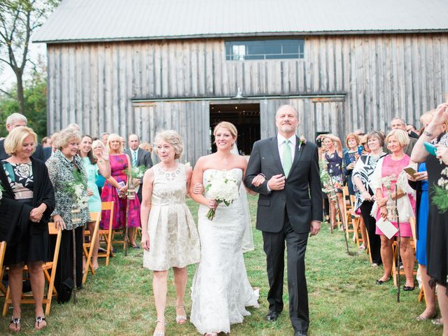 Kaitlin and Michael's Wedding in Ithaca, New York 15