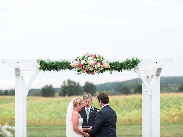 Kaitlin and Michael's Wedding in Ithaca, New York 16