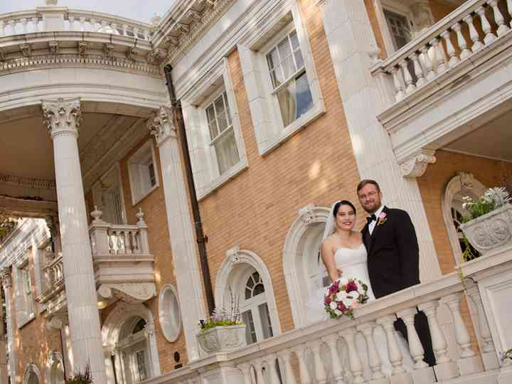 The wedding of Julia and Chris