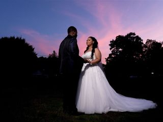The wedding of Charvelle and Crystal