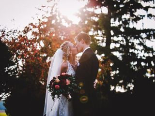 The wedding of Victoria Hicks and Jacob Gruener