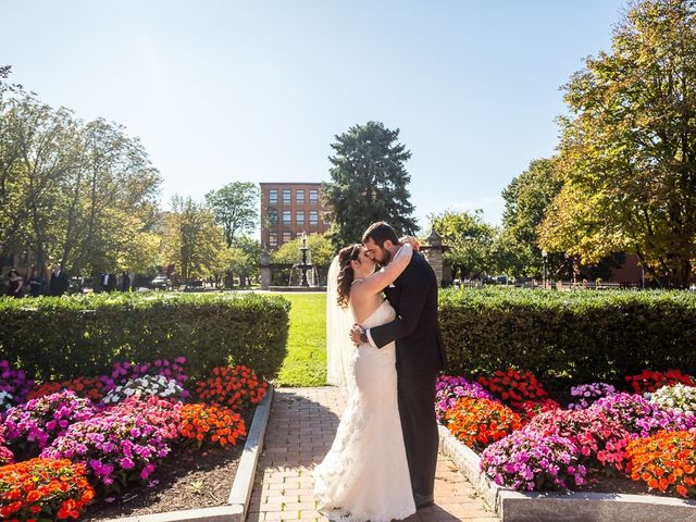 The wedding of Richard and Jennifer