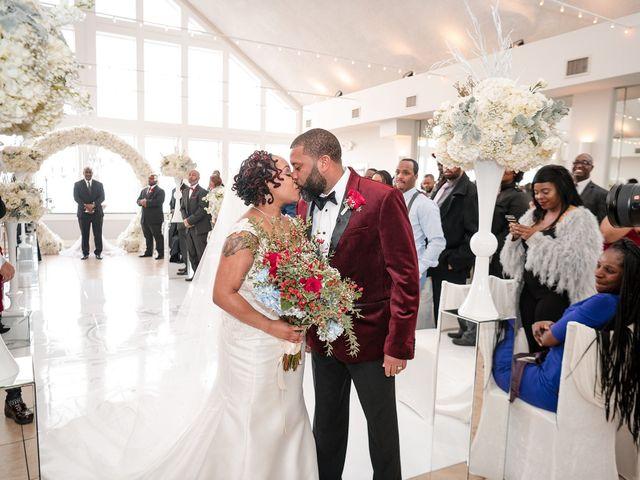 Kenny and Tamika's Wedding in Pasadena, Maryland 12