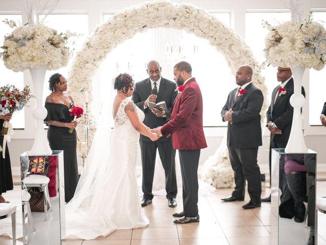 Kenny and Tamika's Wedding in Pasadena, Maryland 13
