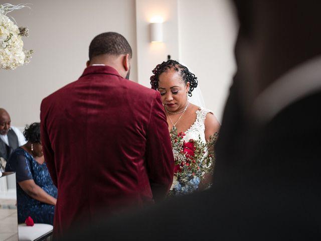 Kenny and Tamika's Wedding in Pasadena, Maryland 14