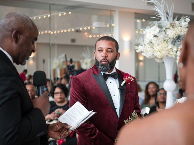 Kenny and Tamika's Wedding in Pasadena, Maryland 16