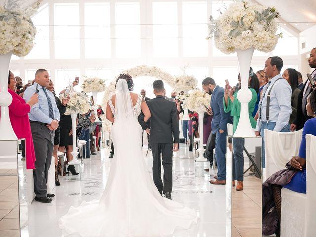 Kenny and Tamika's Wedding in Pasadena, Maryland 17