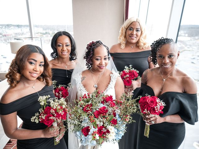 Kenny and Tamika's Wedding in Pasadena, Maryland 22