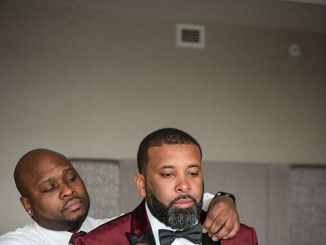 Kenny and Tamika's Wedding in Pasadena, Maryland 30