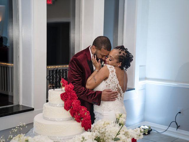 Kenny and Tamika's Wedding in Pasadena, Maryland 41