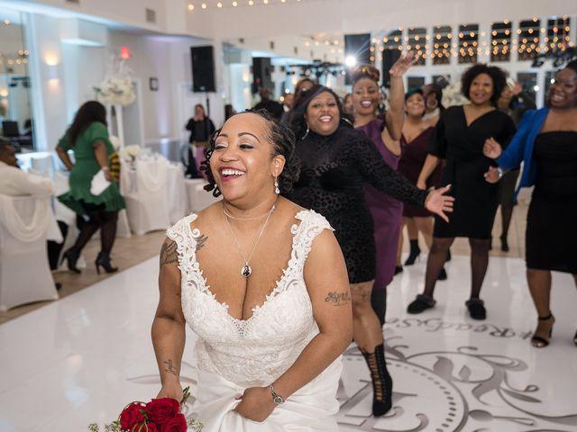 Kenny and Tamika's Wedding in Pasadena, Maryland 42