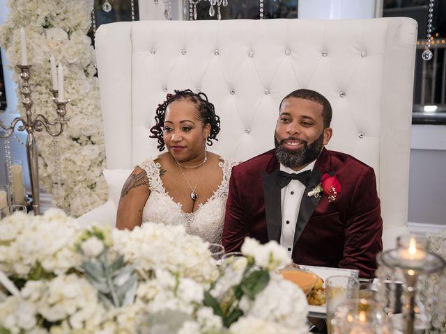 Kenny and Tamika's Wedding in Pasadena, Maryland 43