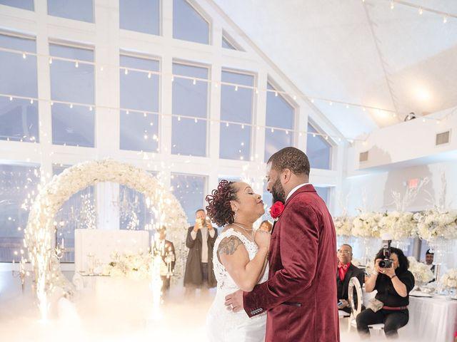 Kenny and Tamika's Wedding in Pasadena, Maryland 45