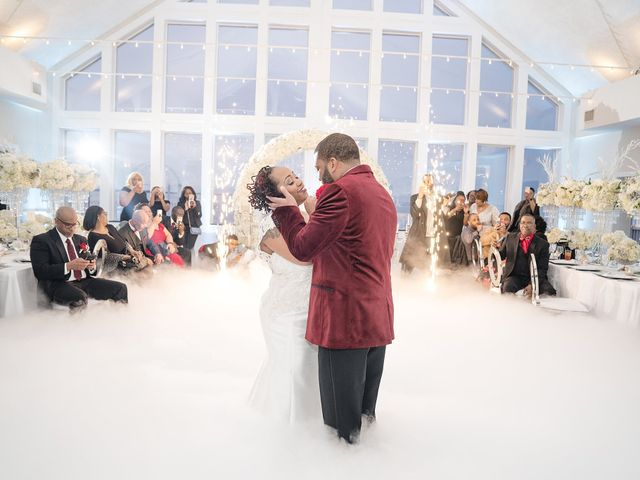 Kenny and Tamika's Wedding in Pasadena, Maryland 46